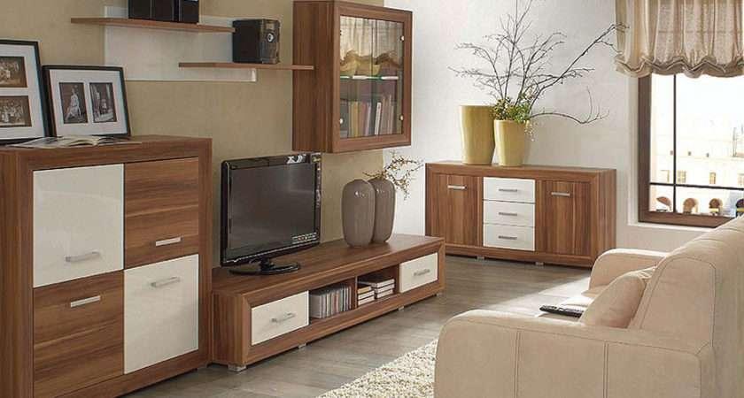 Ogral Brw Living Room Furniture Set Polish Black Red White Modern