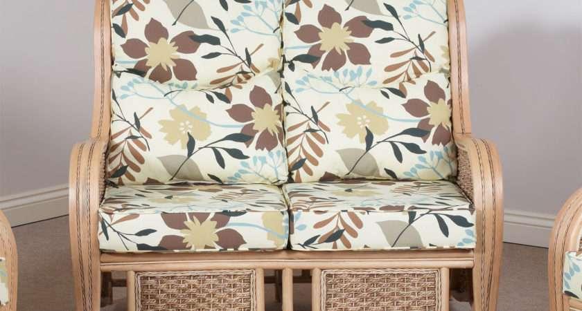 Ohio Conservatory Cane Furniture Settee Sofa Ebay