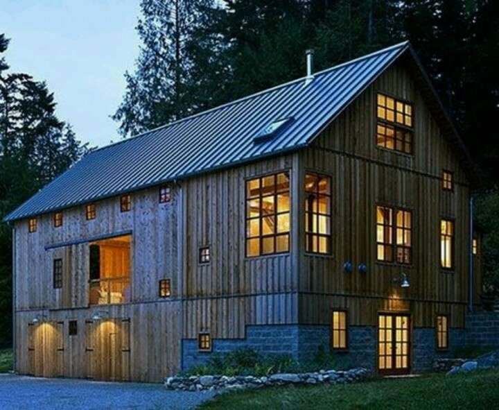 Old Barn Converted Home Barns Pinterest