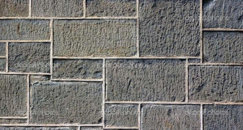 Old Wall Uneven Stone Blocks Cloudia