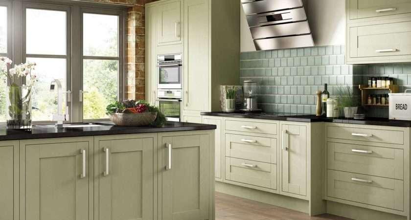 Olive Green Kitchen Cabinets Design Decoration
