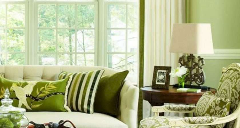 Olive Green Living Room Color