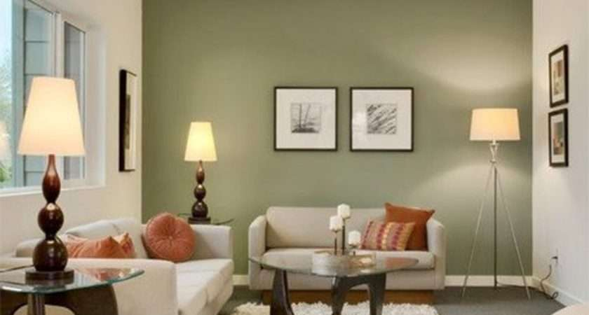 Olive Green Living Room Decor
