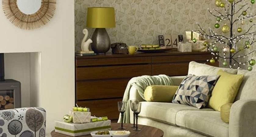 Olive Green Living Room Decor