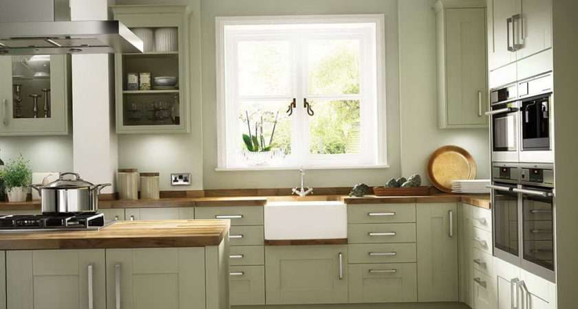 Olive Green Painted Kitchen Cabinets Home Design Ideas