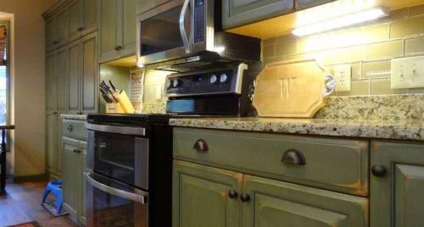 Olive Kitchen Design Ideas Remodels Photos Green