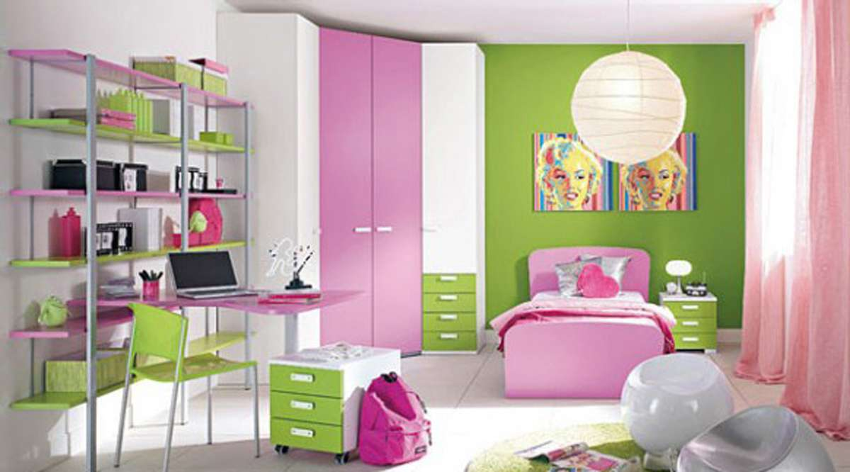 One Total Cozy Girl Room Lovely Pink Decoration