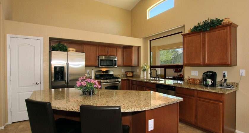 Open Kitchen Design Spacious Cooking Space Concept