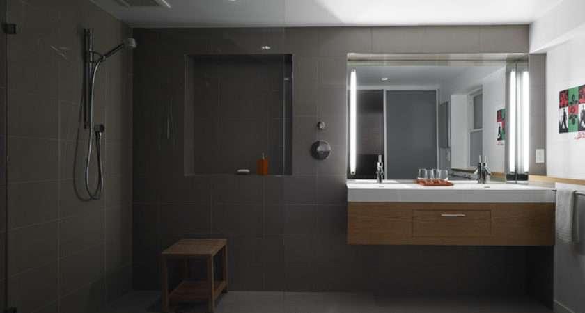 Open Plan Bathroom Modern San Francisco