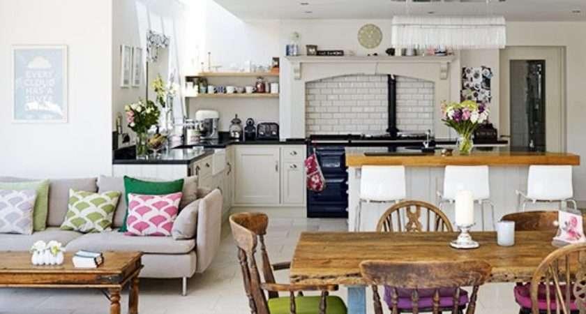 Open Plan Kitchen Diner Design