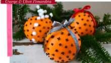 Orange Clove Pomanders Pretty Life Suburbs