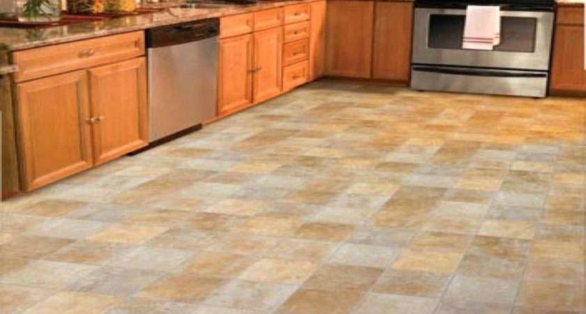 Orange Vinyl Floor Tiles Thematador