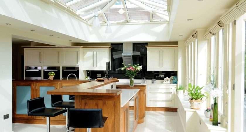 Orangery Kitchen Extension Staffordshire David Salisbury