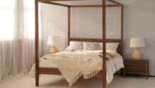 Orchid Four Poster Bed King Frame