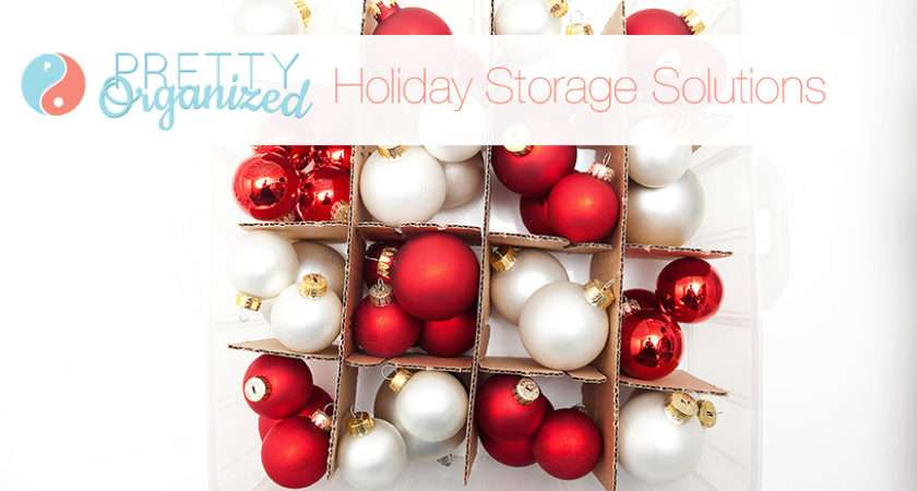 Organized Holiday Christmas Decorating Ideas Small