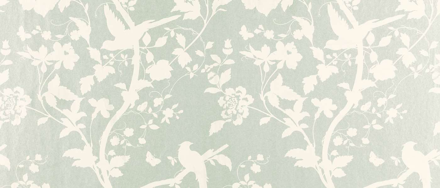 Oriental Garden Eau Nil Floral Laura Ashley