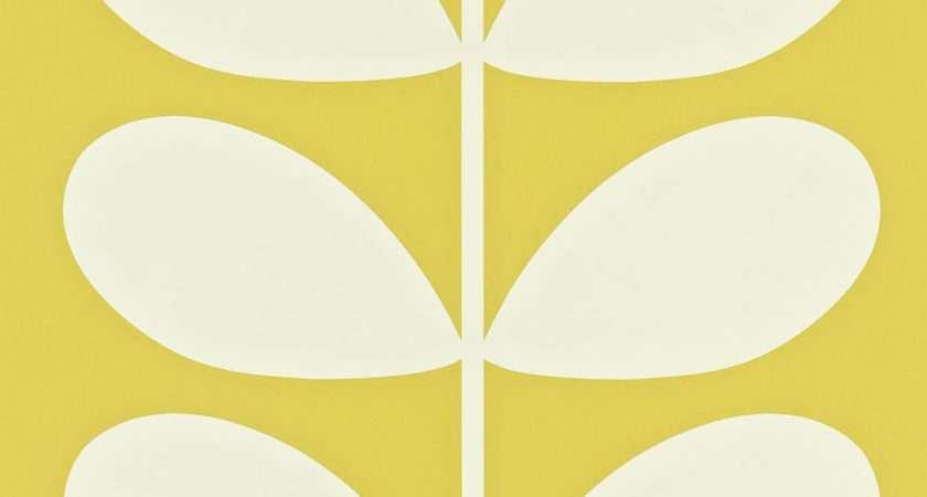 Orla Kiely Giant Stem Yellow