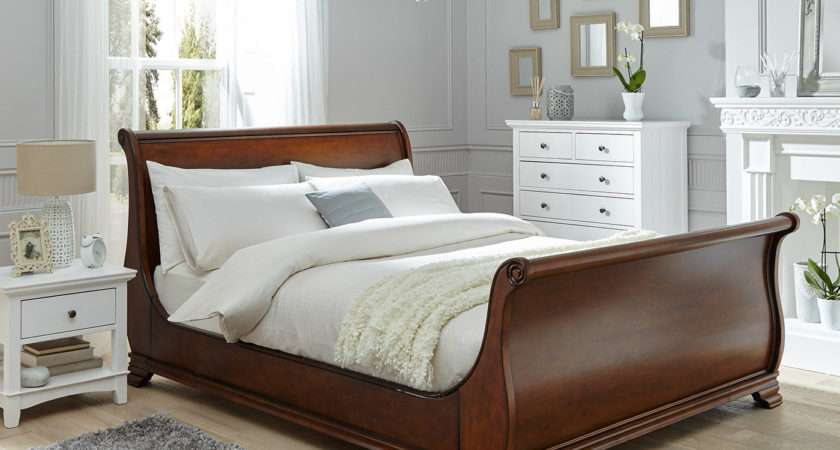 Orleans Walnut Wooden Bed Frame Dreams