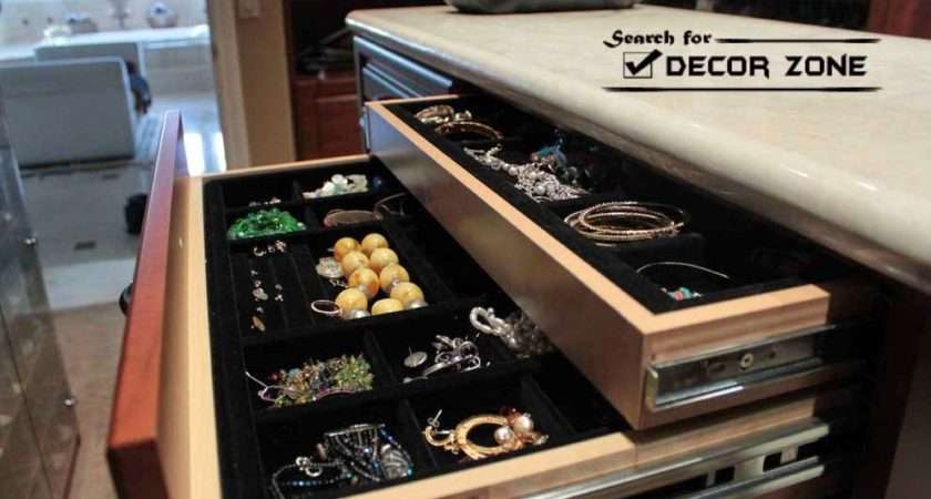 Ornaments Jewelry Storage Solutions Drawers Dressing Table