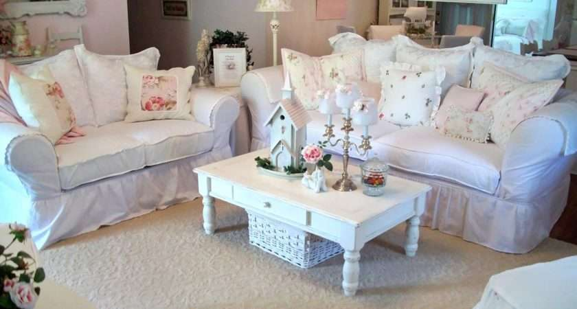 Out Single Detail Bringing Shabby Chic Style Her Living