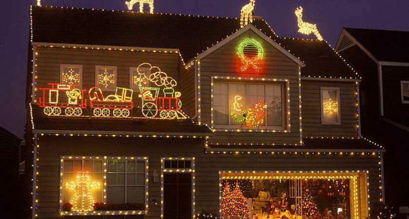 Outdoor Christmas Light Decoration Ideas