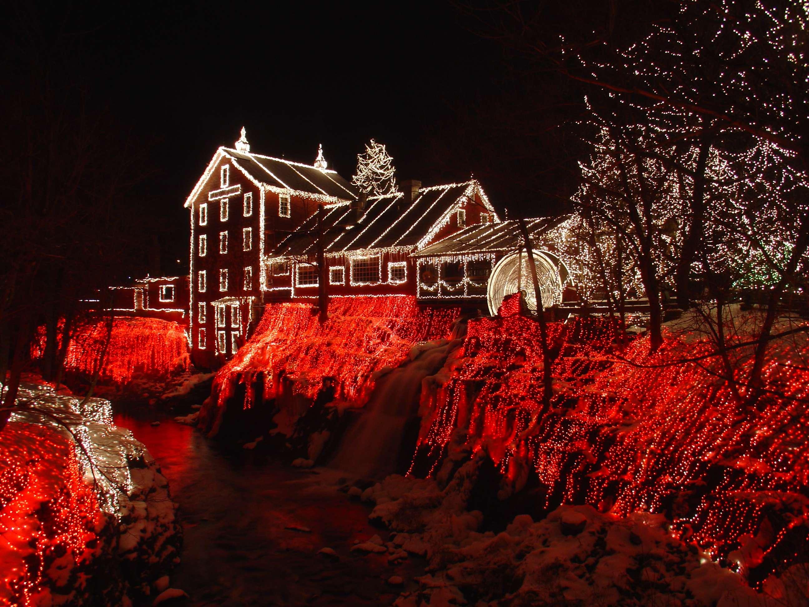 Outdoor Christmas Light Decoration Lights Decorating Ideas