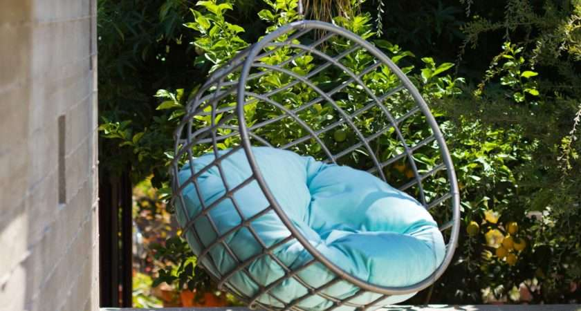 Outdoor Hanging Chair Help Swinging Relaxing