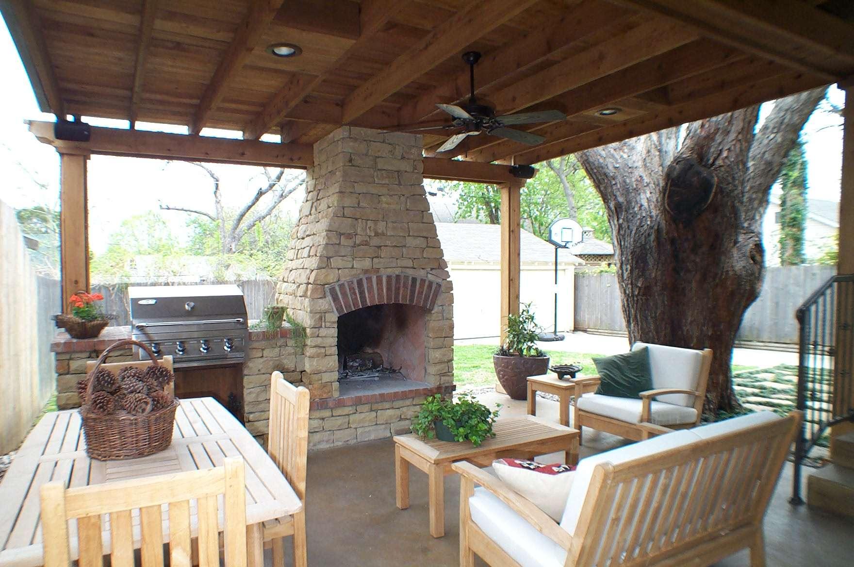 Outdoor Living Rooms Pinterest