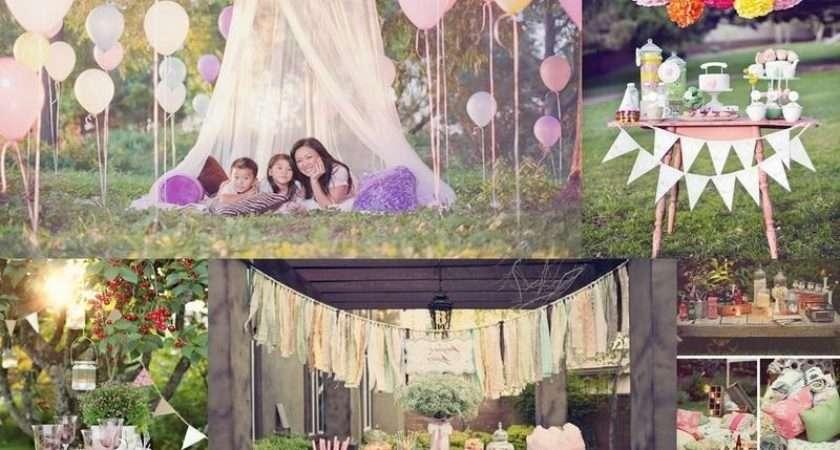 Outdoor Party Decorations Amazing Idea Elegant