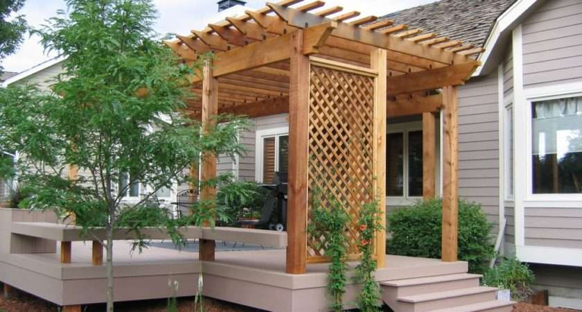 Outstanding Wooden Pergola Design Your Backyard