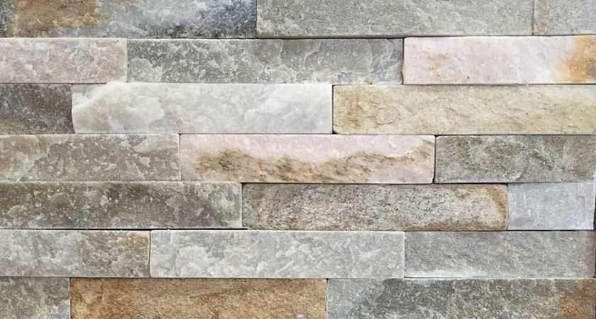 Oyster Mini Split Face Slate Tile Ceramic Planet