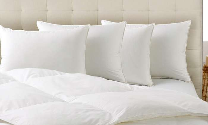 Pack Hypoallergenic Down Alternative Club Med Pillows