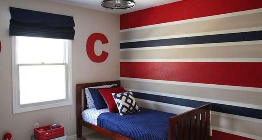Paint Color Schemes Boys Bedroom Makes Tone
