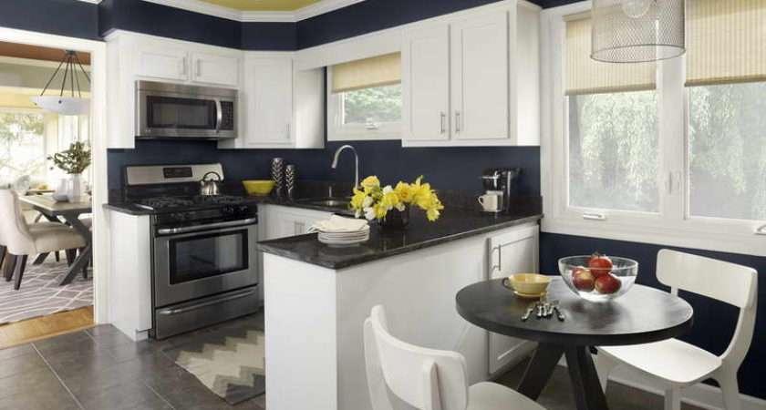 Paint Colors Kitchens White Cabinets Decor