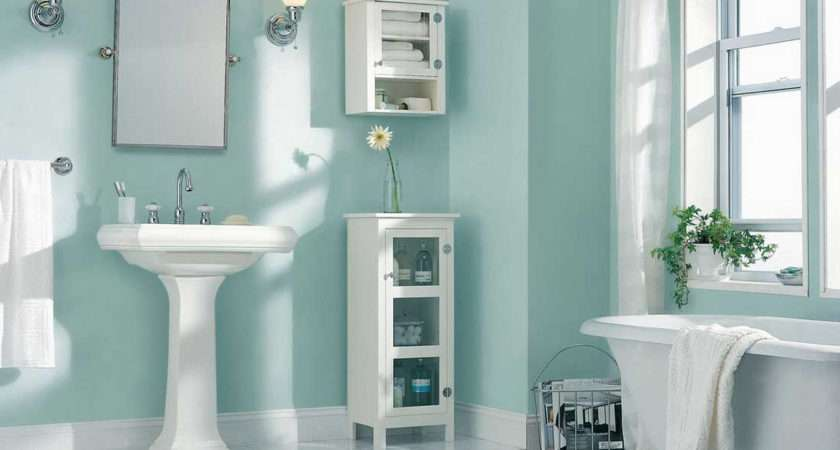 Paint Small Bathrooms Stunning Ten Genius Storage