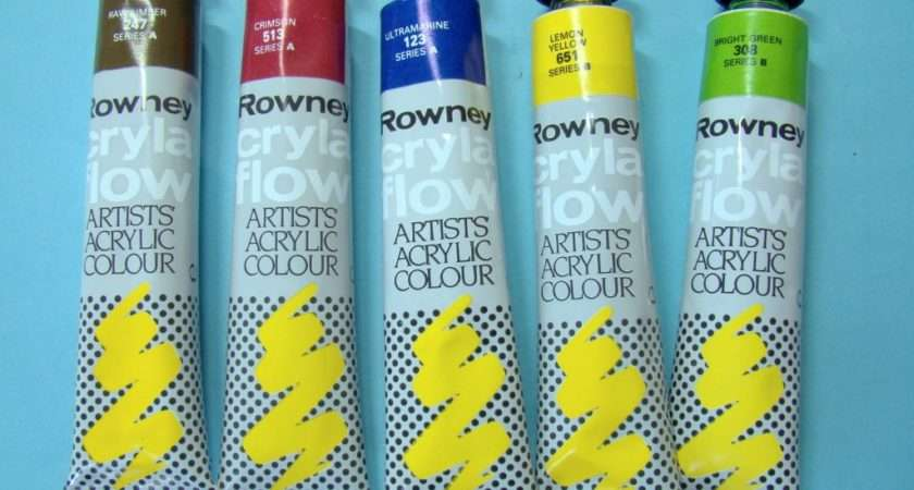 Paint Types Scale Model Guide Together Acrylic Paints