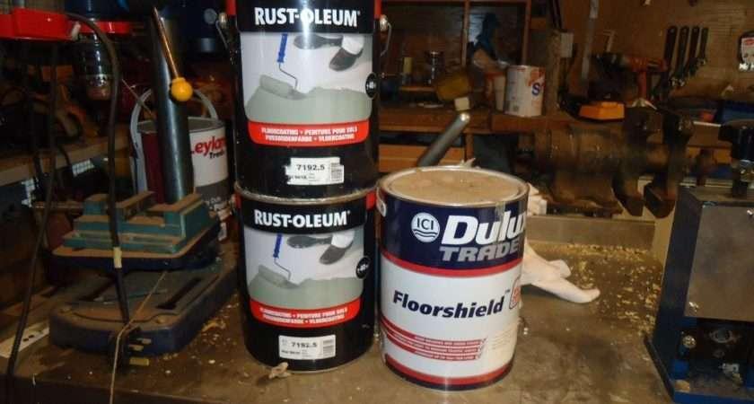 Paint Unopened Tins Rust Oleum White Tin Dulux