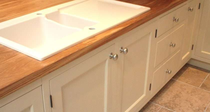 Painted Kitchen Oak Worktops Furniture Somerset