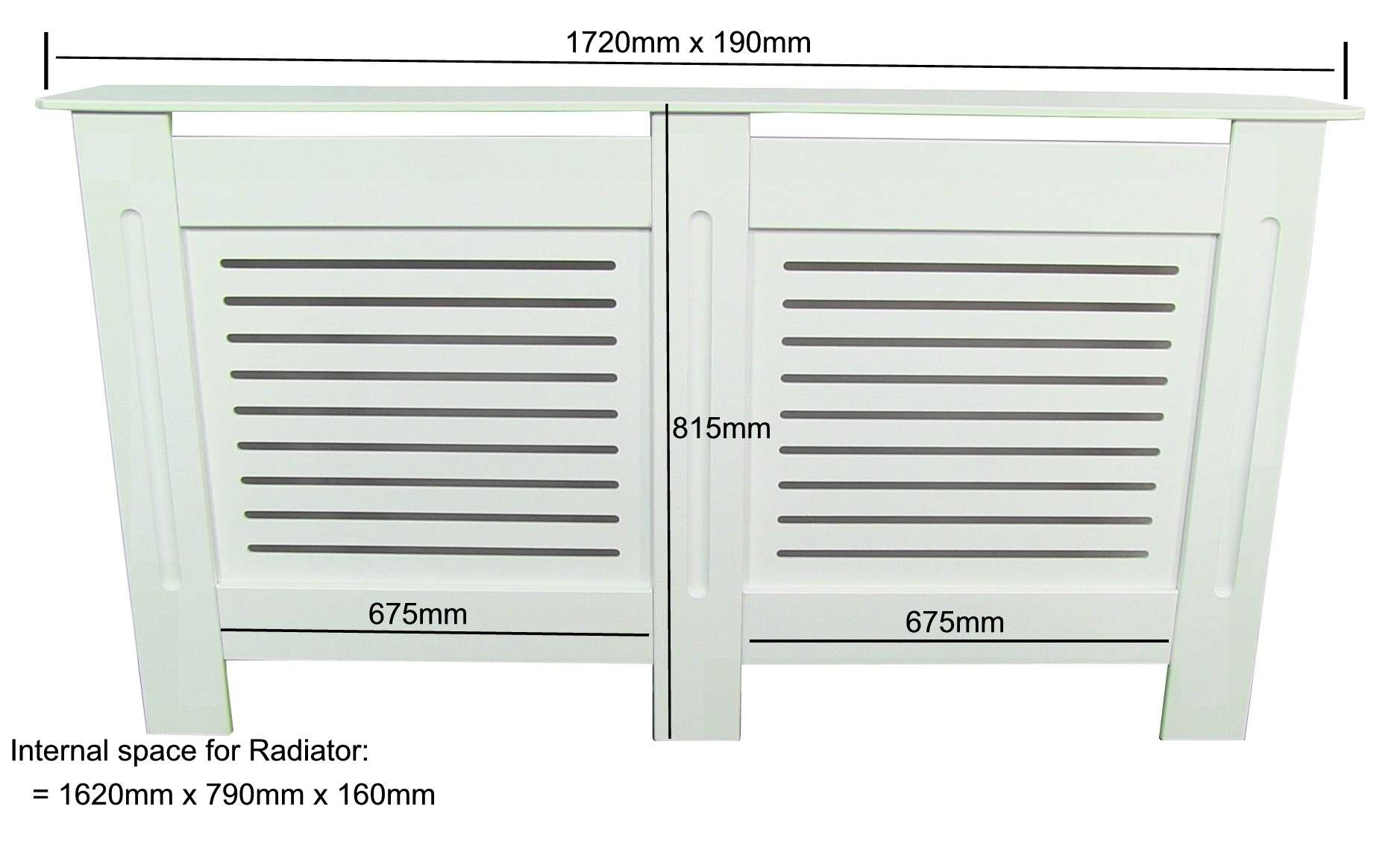 Painted Radiator Cover Cabinet White Mdf Small Large