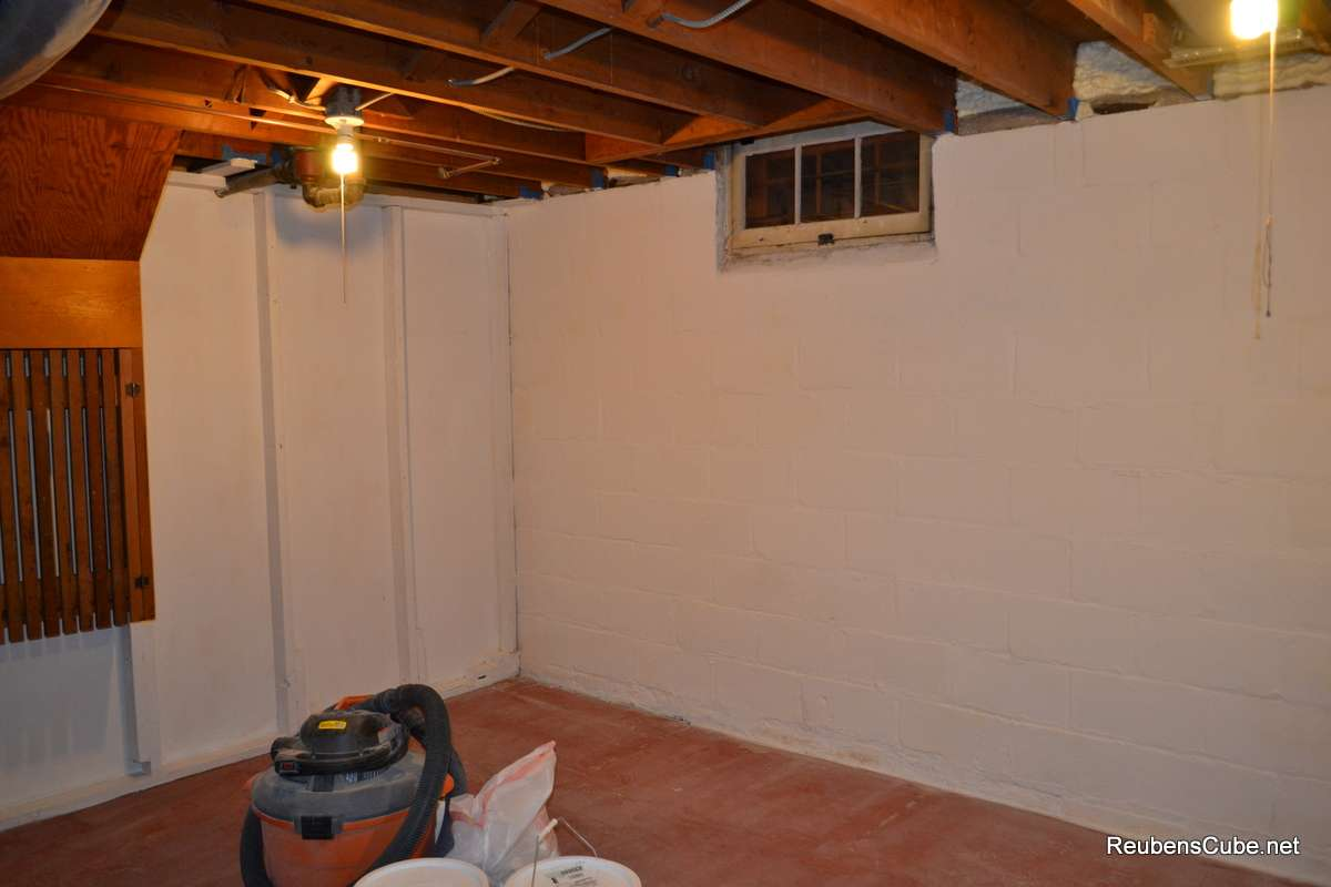 Painting Basement Storage Room Reubenscube