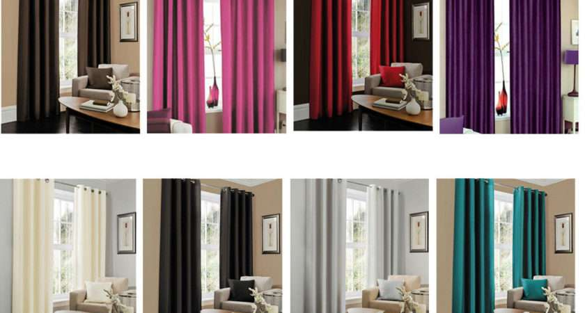 Pair Eyelet Curtain Cushion Covers Bedroom Black White Ebay