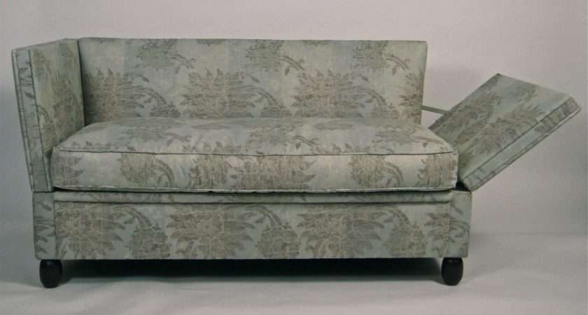 Pair Small Knole Sofas Long Stdibs