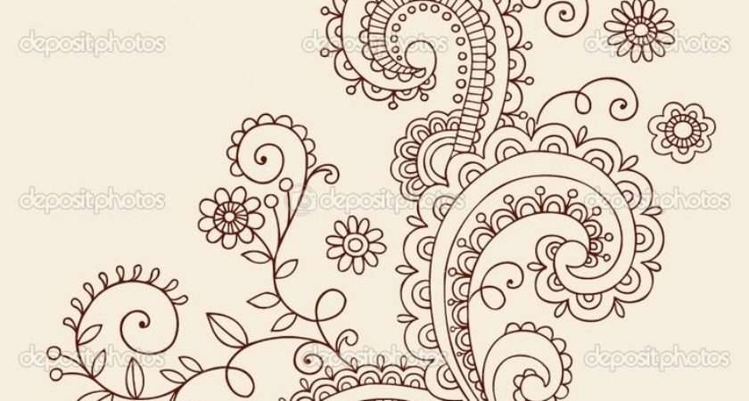 Paisley Pattern Tattoos Designs