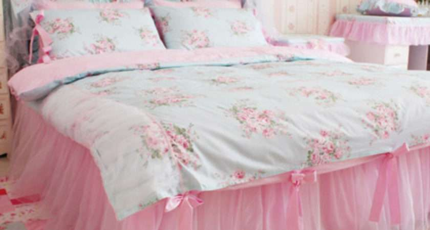 Pajamas Bedding Flowers Girly Kawaii Home