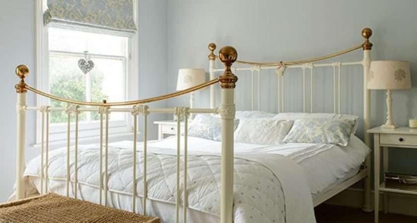 Pale Blue Cream Bedroom Housetohome
