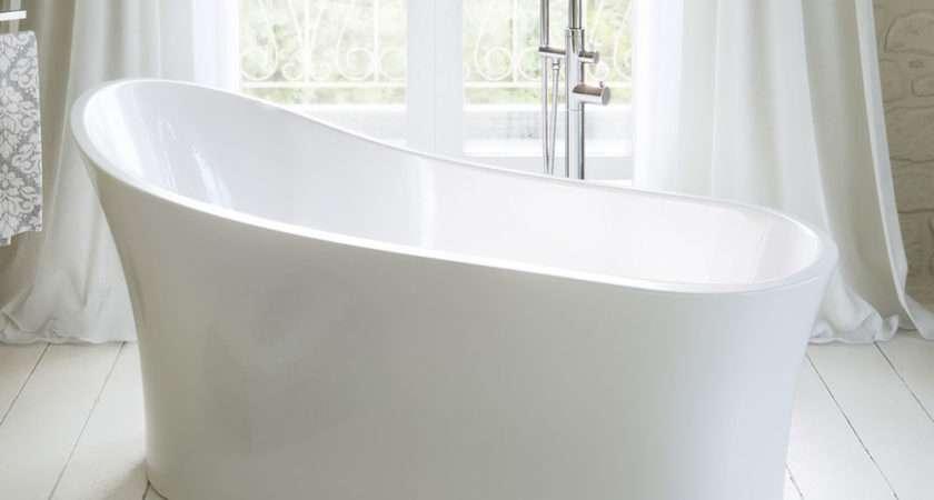 Palmito Modern Freestanding Slipper Roll Top Bath Ebay