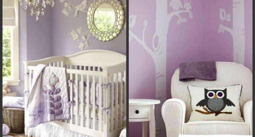 Pantone Colour Year Radiant Orchid Purple Nursery
