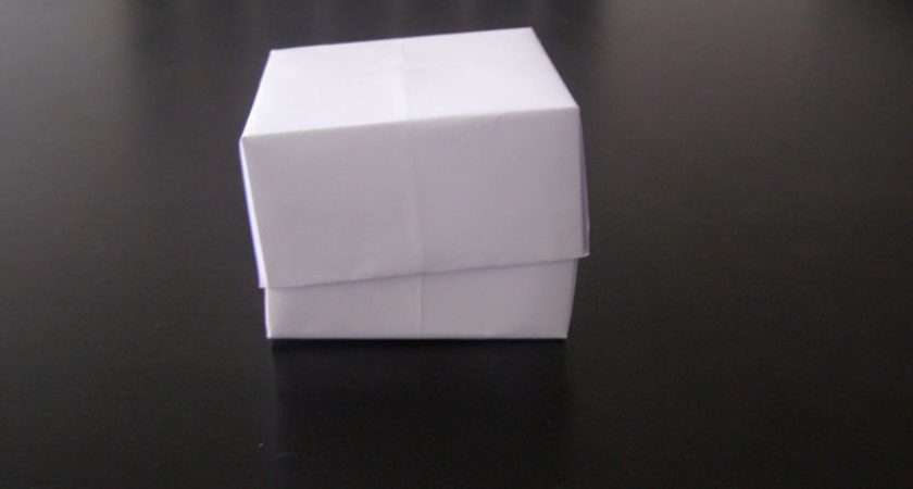 Paper Box First Instruction Here Tried Make