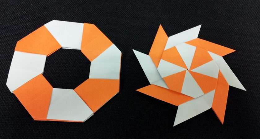 Paper Moon Easy Origami Easily Bored Ninja Star