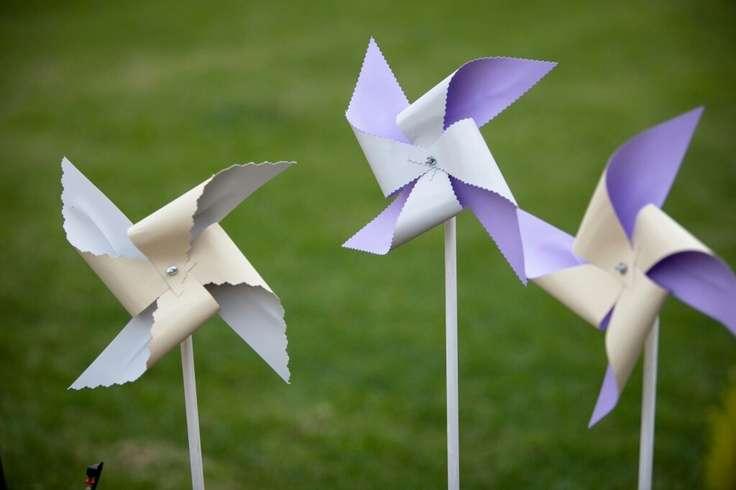 Paper Windmills Creative Diy Pinterest